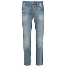 Buy G-Star Raw 3301 Straight Fit Jeans, Memphis Denim Online at johnlewis.com