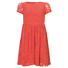 Buy Loved & Found Lace Dress, Coral Online at johnlewis.com