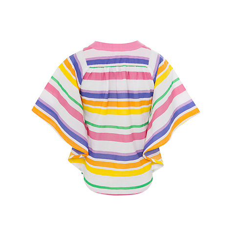 Buy John Lewis Girl Striped Kaftan, Multi Online at johnlewis.com