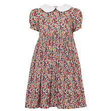 Buy John Lewis Heirloom Collection Liberty Print Dress, Blue/Red Online at johnlewis.com