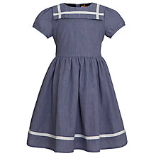 Buy John Lewis Girl Sailor Dress, Blue Online at johnlewis.com
