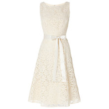 Buy Phase Eight Bridal Daisy Embroidered Prom Style Wedding Dress, Cream Online at johnlewis.com