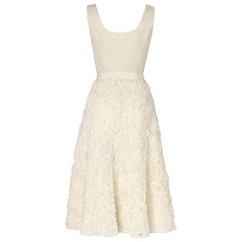 Buy Phase Eight Miranda Wedding Dress, Cream Online at johnlewis.com