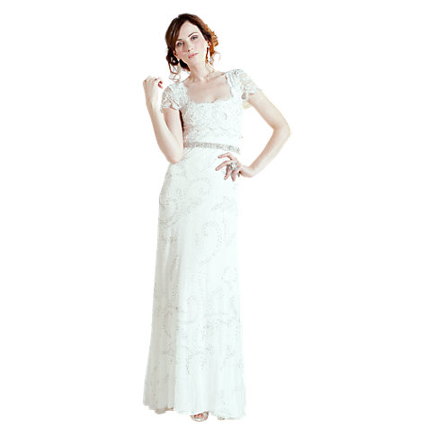 Buy Phase Eight Bridal Eliza Wedding Dress, White Online at johnlewis.com