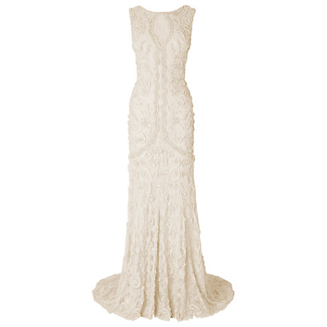 Buy Phase Eight Louisa Wedding Dress, Ivory Online at johnlewis.com