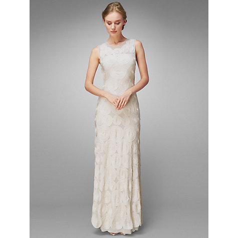 Buy Phase Eight Clemence Wedding Dress, Ivory Online at johnlewis.com