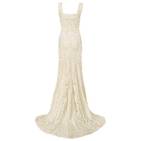Buy Phase Eight Pandora Wedding Dress, Ivory Online at johnlewis.com