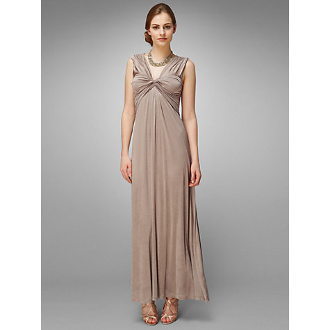 Buy Phase Eight Opera Full Length Dress, Mink Online at johnlewis.com