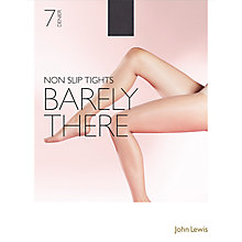 Buy John Lewis 7 Denier Barely There Non-Slip Tights, Pack of 1 Online at johnlewis.com