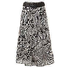 Buy Gerry Weber Animal Print Gypsy Skirt, Multi Online at johnlewis.com