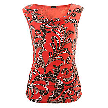 Buy Gerry Weber Cowl Neck Animal Swirl Top, Multi Online at johnlewis.com