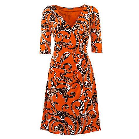 Buy Gerry Weber Jersey Animal Swirl Dress, Multi Online at johnlewis.com