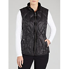 Buy Gerry Weber Lightweight Gilet Jacket, Black Online at johnlewis.com