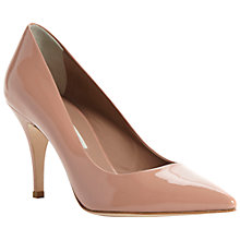 Buy Pied A Terre Aba Patent Point Toe Court Shoes, Nude Online at johnlewis.com