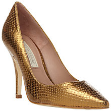 Buy Pied A Terre Amana Leather Point Toe Court Shoe Online at johnlewis.com