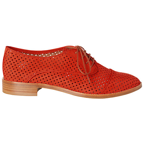 Buy Hobbs Felix Nubuck Cut-Out Detail Brogues Online at johnlewis.com