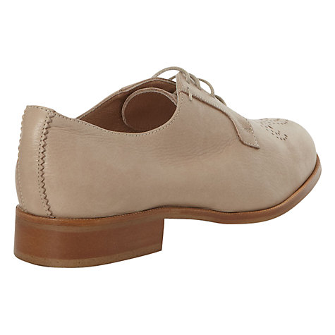 Buy NW3 by Hobbs Robyn Medallion Toe Detail Derby Shoes Online at johnlewis.com
