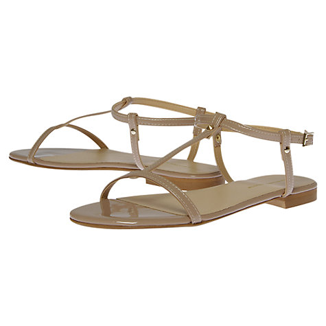 Buy KG by Kurt Geiger Match Flat Sandals Online at johnlewis.com