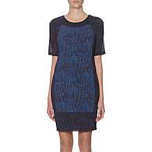 Buy Whistles Summer Bodycon Dress, Blue Multi Online at johnlewis.com
