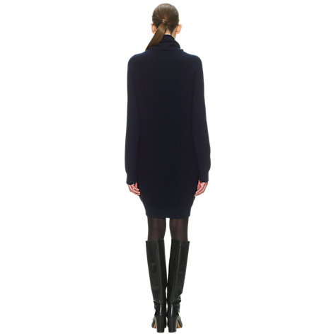 Buy Whistles Daisy Knitted Dress, Navy Online at johnlewis.com