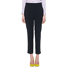 Buy Whistles Lula Tailored Trousers, Navy Online at johnlewis.com