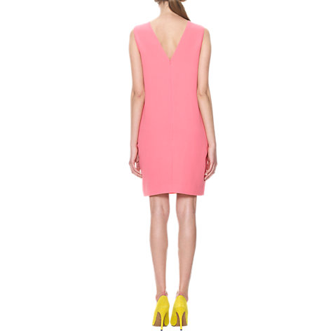 Buy Whistles Maya Cocoon Dress, Pink Online at johnlewis.com
