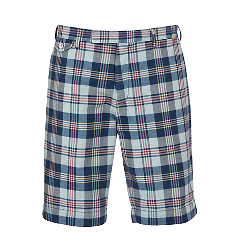 Buy Polo Ralph Lauren Suffield Check Short Online at johnlewis.com