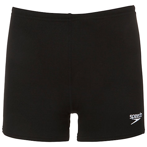 Buy Speedo Boys' Aqua Swimming Shorts, Black Online at johnlewis.com