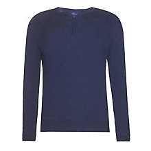 Buy Paul Costelloe for John Lewis Linen Henley Top Online at johnlewis.com