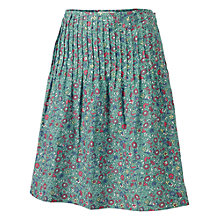 Buy Fat Face Beccy Festival Print Skirt, Green Online at johnlewis.com