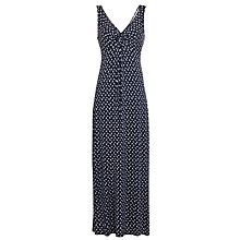 Buy Fat Face Makita Conversation Maxi Dress, Butterfly Print Online at johnlewis.com