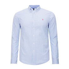 Buy Polo Ralph Lauren Slim Fit Long Sleeve Shirt Online at johnlewis.com