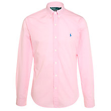 Buy Polo Ralph Lauren Slim Fit Gingham Long Sleeve Shirt Online at johnlewis.com