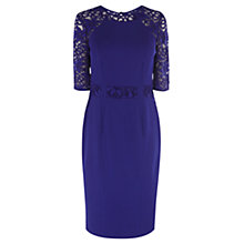 Buy Coast Elsa Lace Dress, Purple Online at johnlewis.com