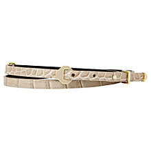 Buy Reiss Diamond Hardware Belt Online at johnlewis.com