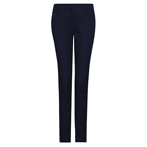 Buy Mango Cropped Super Slim Fit Trousers Online at johnlewis.com