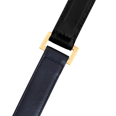 Buy Reiss Alexa Diamond Hardware Double Wrap Belt Online at johnlewis.com