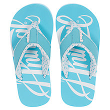 Buy Animal Swish Logo Flip Flops Online at johnlewis.com