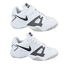 Buy Nike City Court 7 Tennis Shoes, White/Black Online at johnlewis.com