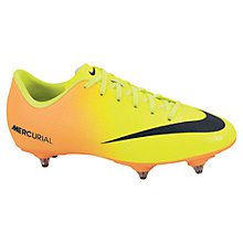 Buy Nike Jr. Mercurial Victory IV SG Football Boots Online at johnlewis.com
