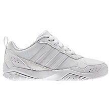 Buy Adidas LK Play K Trainers, White Online at johnlewis.com