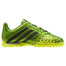Buy Adidas Absolado LZ TRX TF Football Boots, Ray Green/Electricity/Black Online at johnlewis.com