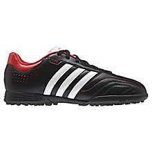 Buy Adidas Questra 11 TRX TF Trainers, Black/Multi Online at johnlewis.com