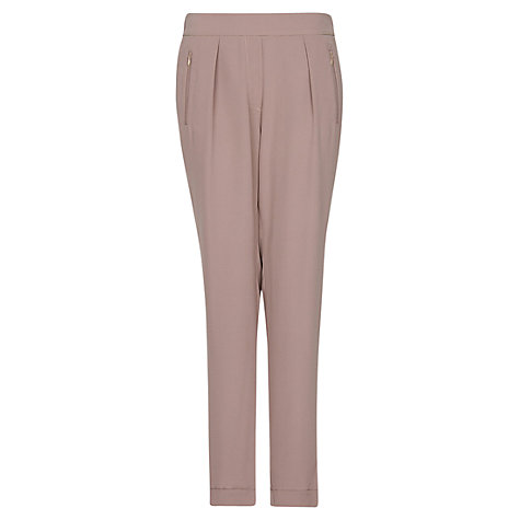 Buy Mango Tapered Trousers, Mystery Online at johnlewis.com