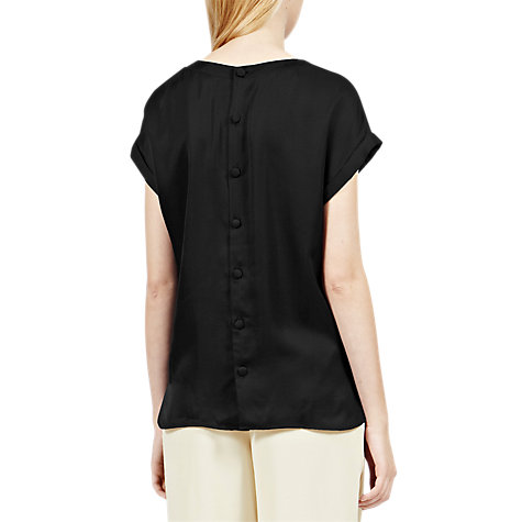 Buy Reiss Eleanor Button Back Top Online at johnlewis.com
