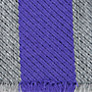 Buy School Unisex Striped Scarf, Purple/Grey Online at johnlewis.com