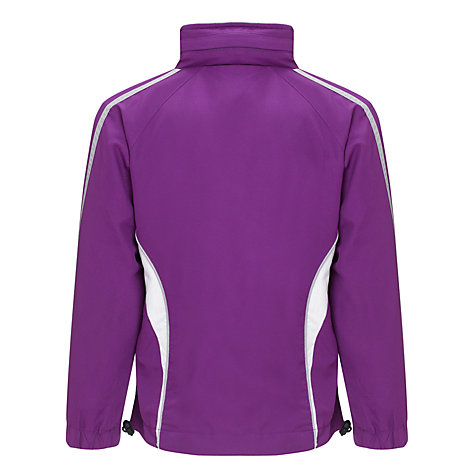 Buy Daiglen School Unisex Tracksuit Top, Purple/White Online at johnlewis.com