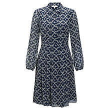 Buy Somerset by Alice Temperley Manor Print Dress, Midnight Online at johnlewis.com