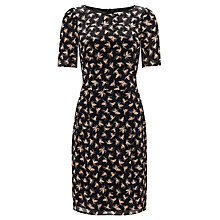 Buy Somerset by Alice Temperley Pine Cone Dress, Black Online at johnlewis.com