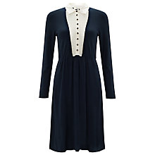 Buy Somerset by Alice Temperley 2 in1 Insert Knitted Dress, Navy Online at johnlewis.com